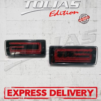 TAIL LIGHTS TYPE FULL SMOKED 3D LED