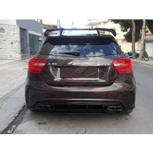 REAR DIFFUSER incl.TIPS  - AMG II -
